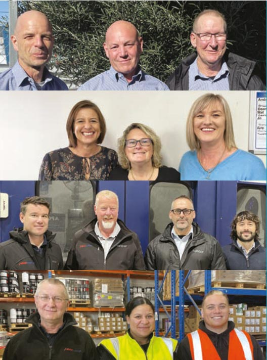 The team at DBNZ Coatings